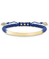 Thomas Sabo Armband ´´Nazar Auge Gold´´ mit Gravur blau LBA0067-899-1-L21v