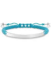 Thomas Sabo Armband ´´Seestern´´ mit Gravur blau LBA0059-173-1-L21v
