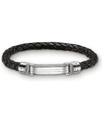 Thomas Sabo Bracelet de cuir noir LB49-008-11-L23