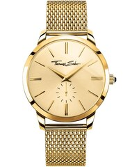 Thomas Sabo Montre pour homme ´´REBEL SPIRIT´´ jaune WA0263-264-207-42 mm