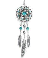 Thomas Sabo pendentif ´´attrape-rêves ethnique´´ turquoise PE711-646-17