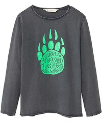 Mango Kids T-shirt - gris foncé