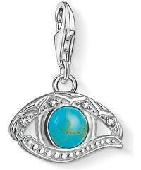 Thomas Sabo pendentif Charm ´´œil d´Horus´´ turquoise 1403-060-17