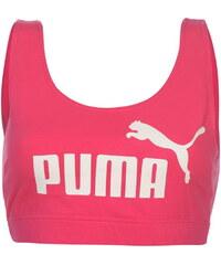 Puma Essential Crop Top dámské Fuschia
