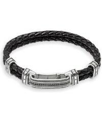 Thomas Sabo Bracelet de cuir noir LB50-019-11-L23