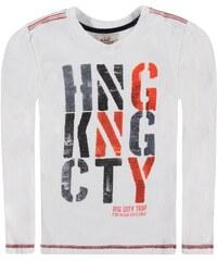 KANZ T Shirt langärmlig Sportiver City Print