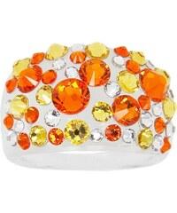 Šperky LAFIRA Style Dámský prsten Swarovski Bubble Sun 810