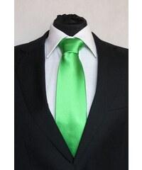 Šperky LAFIRA Style Pánská světle zelená klasická kravata 904