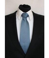 Šperky LAFIRA Style Pánská modrá klasická kravata se čtverečky 923