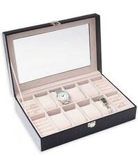 Šperky LAFIRA Style Dámská černá šperkovnice na hodinky 1117