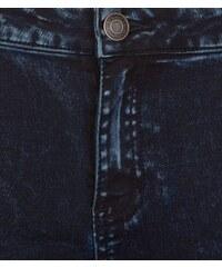 New Look Teenager - Stark verwaschene Skinny-Jeans, marineblau