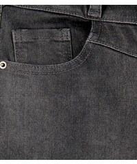 New Look Teenager – Dunkelgraue Skinny-Jeans mit hohem Bund