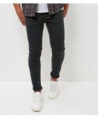 New Look Dunkelgrüne Skinny-Hose