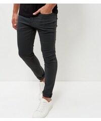 New Look Dunkelgraue Skinny-Hose