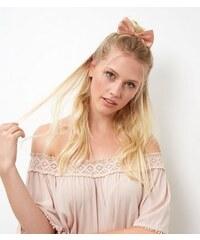 New Look Rosa Haarspange mit Satinschleife