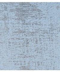 New Look Teenager – Blaues, hochgeschlossenes Trägertop in Metallic-Optik