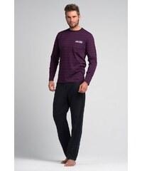 Rössli Pánské pyžamo Filip fialová L