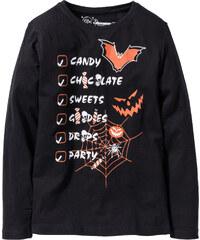 bpc bonprix collection T-shirt manches longues Halloween noir enfant - bonprix