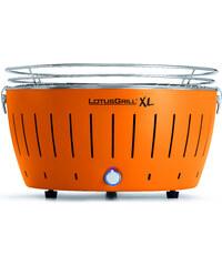 LotusGrill XL, Bezkouřový přenosný gril 43cm, Mandarinková oranžová