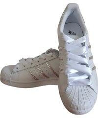 Adidas Superstar Foundation SparkleS White Clear