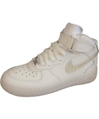 Nike Air Force 1 Mid SparkleS White/Clear