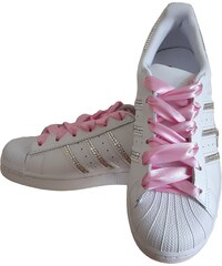 Adidas Superstar Foundation SparkleS White Clear/Pink