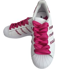 Adidas Superstar Foundation SparkleS White/Pink AB