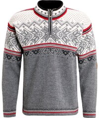 Dale of Norway VAIL Strickpullover smoke/raspberry/off white/dark charcoal