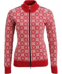 Dale of Norway FRIDA Strickpullover raspberry/off white/navy/metal