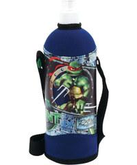 výška 25 cm, průměr 8,5 cm Láhev v obalu 750 ml Želvy Ninja modrá