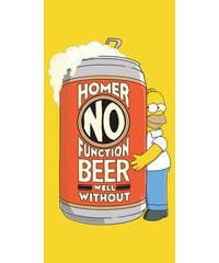 Osuška Homer Simpson 2 beer 75/150