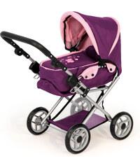 Kočárek pro panenky Bayer Maxi fialový