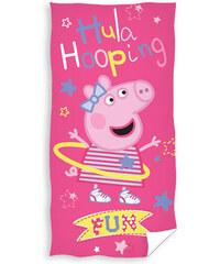 Plážová osuška Peppa Pig Hula hop 70/140 cm