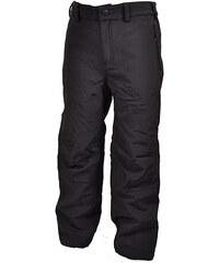 Bugga Dětské funkční softshellové kalhoty - černé