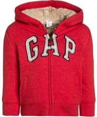 GAP Sweat zippé modern red