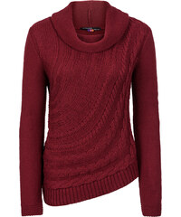 BODYFLIRT boutique Pullover in rot für Damen von bonprix