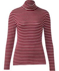 Street One Shirt mit Rollkragen Idona - vintage red, Damen