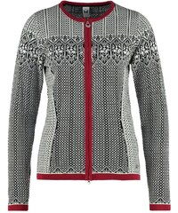 Dale of Norway SIGRID Gilet black/off white/red rose