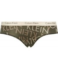 Calvin Klein khaki kalhotky Cheeky