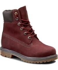 Turistická obuv TIMBERLAND - Af 6 In Prem A18NJ Dk Red