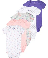 Carter's 5 PACK Body purple/heather