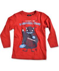 Blue Seven Chlapecké tričko Baseball club - červené