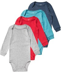 Carter's 4 PACK Body solid heather
