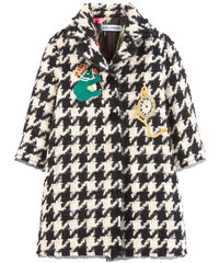 Dolce & Gabbana Mini Me Mantel aus Wollstoff