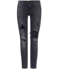 7 For All Mankind - Ankle Skinny Jeans für Damen
