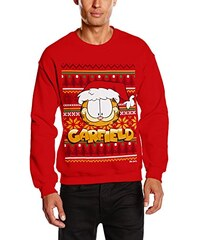 Brands In Limited Herren Sweatshirt Xmas Knit Garfield