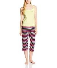 O'moi Damen Sportswear-Set Caraibes Pyjama Corsaire