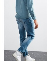 Q/S designed by Pete Straight: Robuste Used-Jeans Q/S DESIGNED BY blau 30,31,32,33,34,36