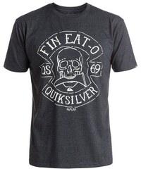 QUIKSILVER T-Shirt Heather Fin Eat schwarz L(54),M(50),S(46),XL(58),XS(44),XXL(62)