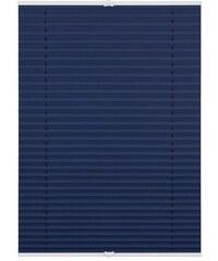 Plissee Lichtblick Klemmfix verspannt Faltenstore Verdunkelnd/Energiesparend Fixmaß ohne Boh LICHTBLICK blau 7 (H/B: 130/110),8 (H/B: 130/120)